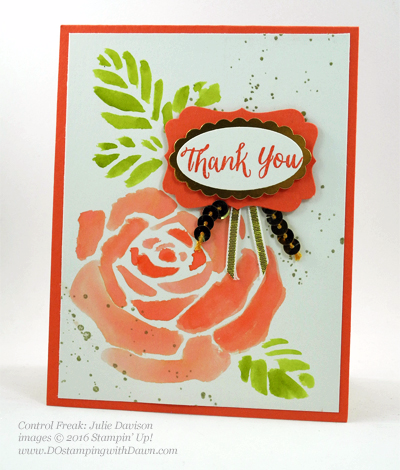 Rose Wonder Bundle card swap shared by Dawn Olchefske #dostamping #stampinup (Julie Davison)