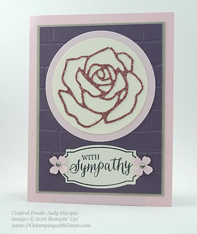 Rose Wonder Bundle card swap shared by Dawn Olchefske #dostamping #stampinup (Judy Discipio)