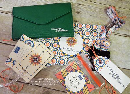 Stampin' Up! Travel Wallet shared by Dawn Olchefske #dostamping #stampinup