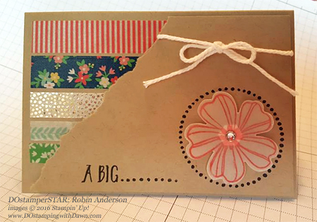 DOstamperSTARS Affectionately Yours cards shared by Dawn Olchefske #dostamping #stampinup (Robin Anderson)