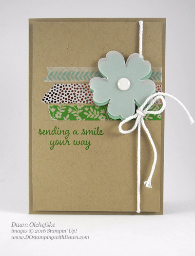 Affectionately Yours card create by Dawn Olchefske #dostamping #stampinup