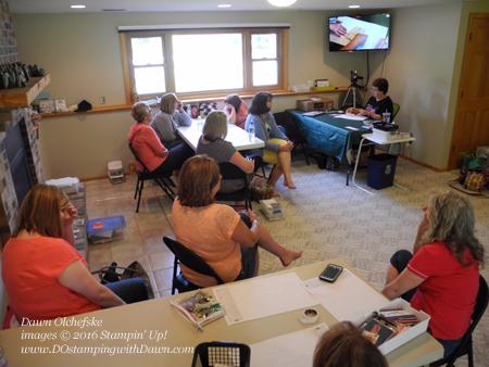 DOstamperSTARS presentation projects at Dawn Olchefske's Team Meeting #dostamping #stampinup