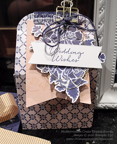Floral Phrases Mediterranean Cruise Display Cards shared by Dawn Olchefske #dostamping #stampinup