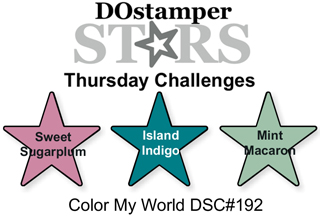 DOstamperSTARS Thursday Challenge #192-Color My World