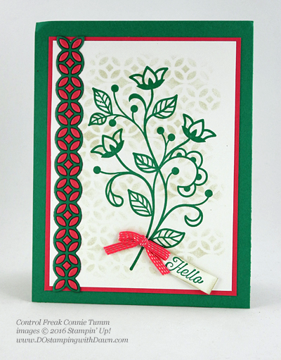 Flourishing Phrases Bundle swap cards shared by Dawn Olchefske #dostamping #stampinup (Connie Tumm)