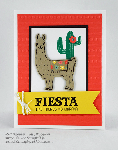 Birthday Fiesta Bundle swap cards shared by Dawn Olchefske #dostamping #stampinup (Patsy Waggoner)