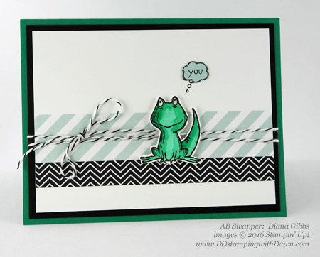 Love You Lots swap card shared by Dawn Olchefske #dostamping #stampinup (Diana Gibbs)