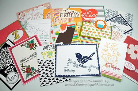 Birthday Cards received by Dawn Olchefske