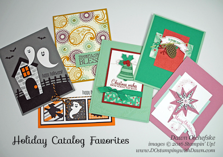 Dawn's Holiday Catalog Favorites #dostamping #stampinup