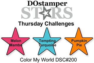 DOstamperSTARS Thursday Challenge #200-Color My World