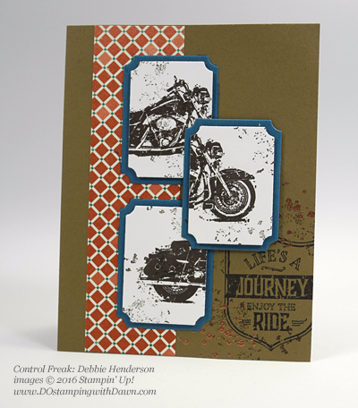 One Wild Ride swap cards shared by Dawn Olchefske #dostamping (Debbie Henderson)