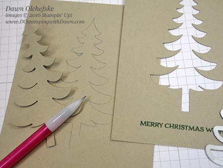 Stampin' Up! Warmth & Cheer Washi Tape & Santa's Sleigh Bundle card created by Dawn Olchefske for DOstamperSTARS Thursday Challenge #DSC198 #dostamping