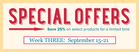 Stampin' Up! Special Offers Week3, September 15-21, Shop with Dawn Olchefske #dostamping