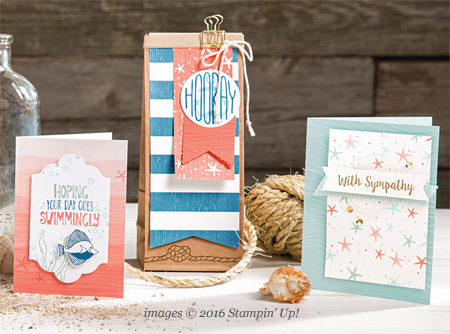 Stampin' Up! By The Shore #dostamping (