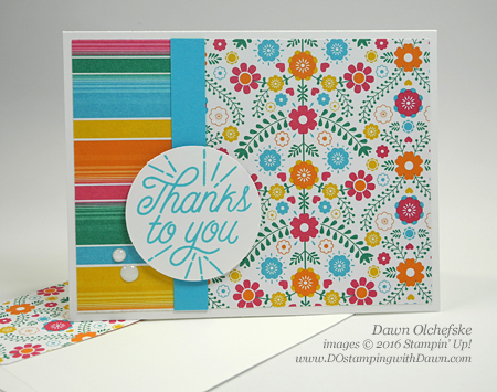 Stampin' Up! Festive Birthday cards created by Dawn Olchefske #dostamping