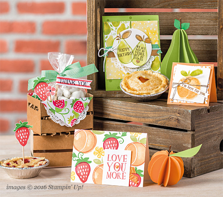 Stampin' Up! Fruit Stand Designer Series Paper #dostamping