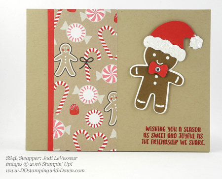 Stampin' Up! Cookie Cutter Bundle swap cards shared by Dawn Olchefske #dostamping #stampinup (Jodi LeVesseur)