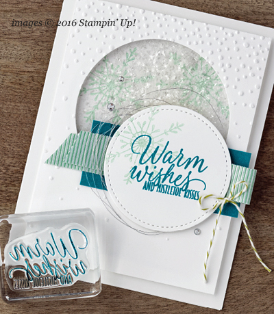 Stampin' Up! Stitched Shape Framelit #dostamping