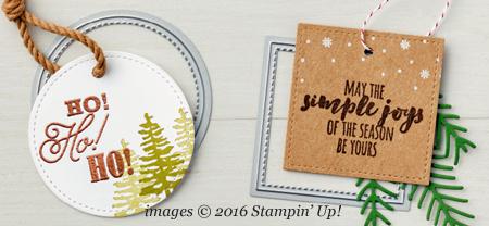 Stampin' Up! Stitched Shape Framelit #dostamping