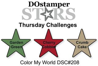 DOstamperSTARS Thursday Challenge #208-Color My World