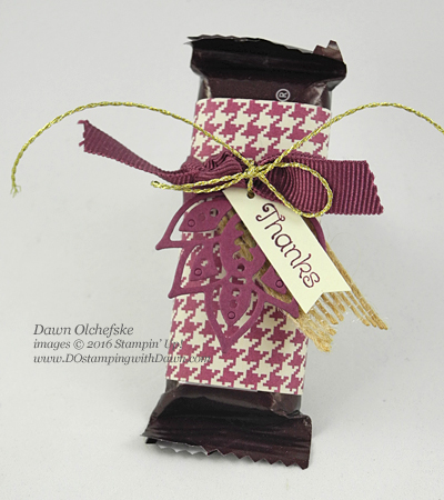 Stampin' Up! Paisley & Posies Bundle treat created by Dawn Olchefske #dostamping