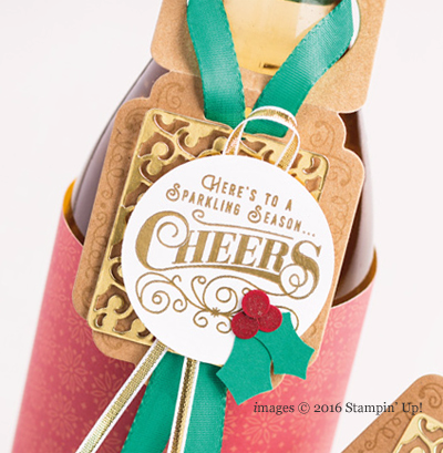 Stampin' Up! Cheerful Tags Online Extravaganza #dostamping