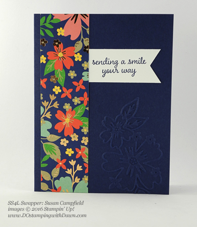 Affectionately Yours Swap card shared by Dawn Olchefske #dostamping (Susan Campfield)