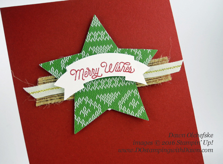 Stampin' Up! Oh, What Fun card created by Dawn Olchefske for DOstamperSTARS Thursday Challenge #DSC209 #dostamping