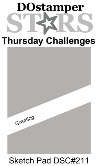 DOstamperSTARS Thursday Challenge #211-Sketch Pad