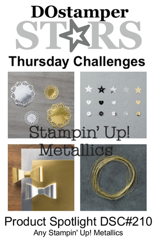 DOSstamperSTARS Thursday Challenge #210-Product Spotlight