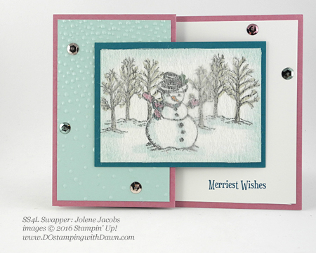 Christmas Magic swap card shared by Dawn Olchefske #dostamping (Jolene Jacobs)