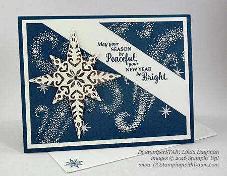 Star of Light Bundle card shared by Dawn Olchefske #dostamping (Linda Kaufman)