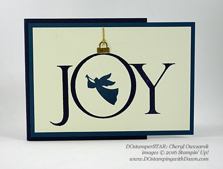 Joyful Nativity card shared by Dawn Olchefske #dostamping (Cheryl Owczarek)