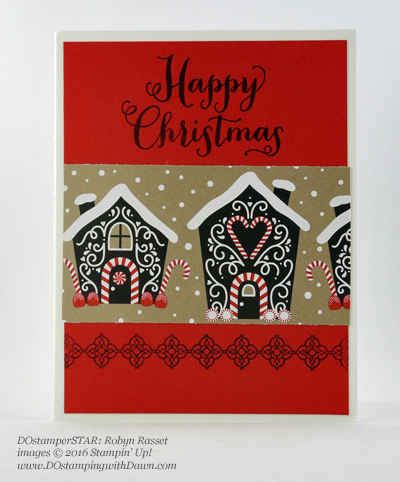 Oh, What Fun card shared by Dawn Olchefske #dostamping (Robyn Rasset)