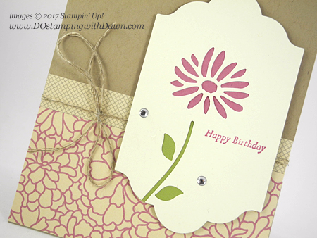 Stampin' Up! Special Reason bundle card shared by Dawn Olchefske #dostamping
