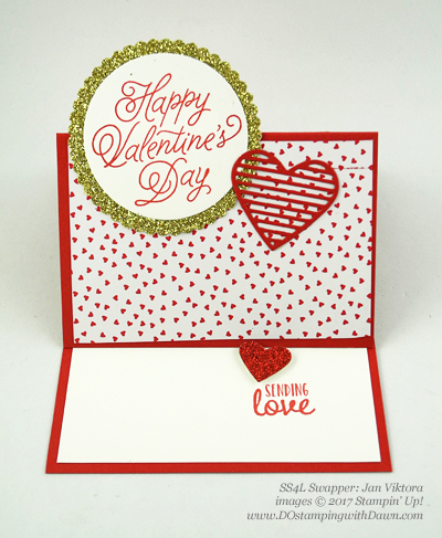 Valentine Swap card shared by Dawn Olchefske #dostamping (Jan Viktora)