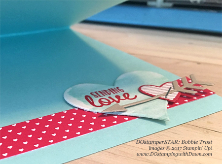 Stampin' Up! Valentine projects created by DOstamperSTARS #dostamping (Bobbie Trost)