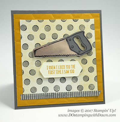 Stampin' Up! Nailed It stamp set shared by Dawn Olchefske #dostamping