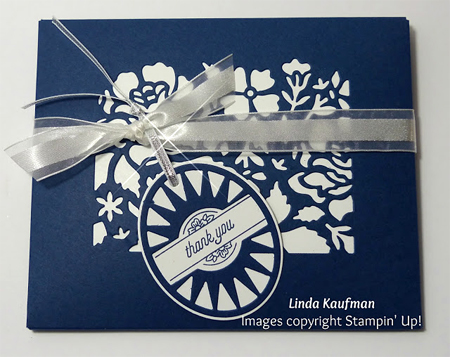 Stampin' Up! DOstamper STARS Friday Featurecards shared by Dawn Olchefske #dostamping(Linda Kaufman)