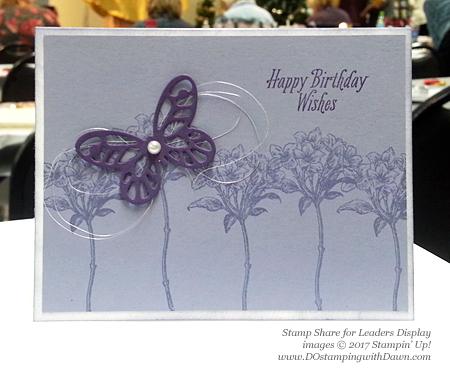 Stampin' Up!Sale-a-Bration Avant Garden card shared by Dawn Olchefske #dostamping