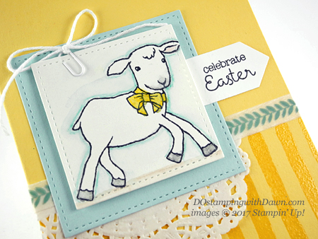 Stampin' Up! Little Cuties card shared by Dawn Olchefske #dostamping