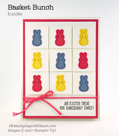 Stampin' Up! Basket Bunch Bundle shared by Dawn Olchefske #dostamping