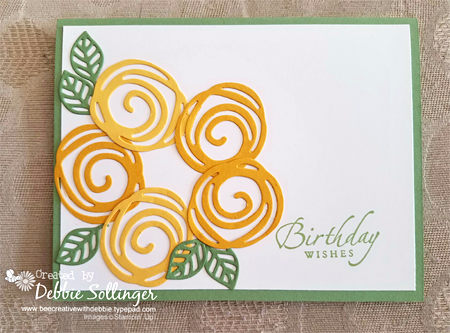 Stampin' Up! DOstamper STARS Friday Feature cards shared by Dawn Olchefske #dostamping (Debbie Sollinger)