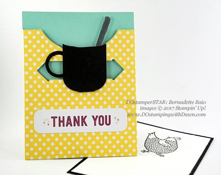 Stampin' Up! DOstamper STARS Friday Featurecards shared by Dawn Olchefske #dostamping (Bernadette Baio)