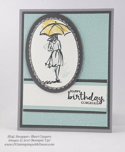Stampin' Up! Beautiful You swap cards shared by Dawn Olchefske #dostamping (Shari Caspers)