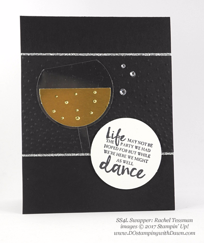 Stampin' Up! Beautiful You swap cards shared by Dawn Olchefske #dostamping (Rachel Tessman)