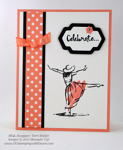 Stampin' Up! Beautiful You swap cards shared by Dawn Olchefske #dostamping (Terri Snider)