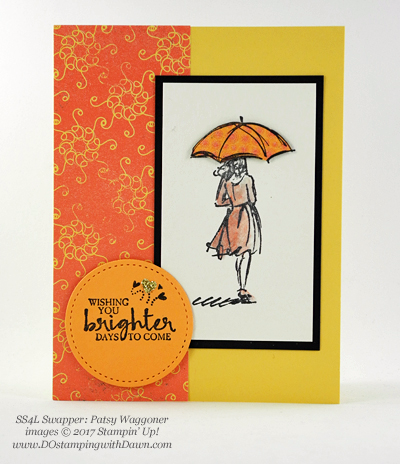Stampin' Up! Beautiful You swap cards shared by Dawn Olchefske #dostamping (Pasty Waggoner)