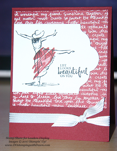 Stampin' Up! Beautiful You SS4L Display Cards cards shared by Dawn Olchefske #dostamping