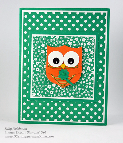 Badge Punch Leprechaun Owl shared by Dawn Olchefske #dostamping (Sally Neisbaum)